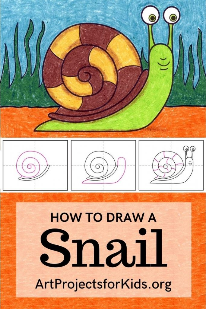 Snail for Pinterest – Activity Craft Holidays, Kids, Tips