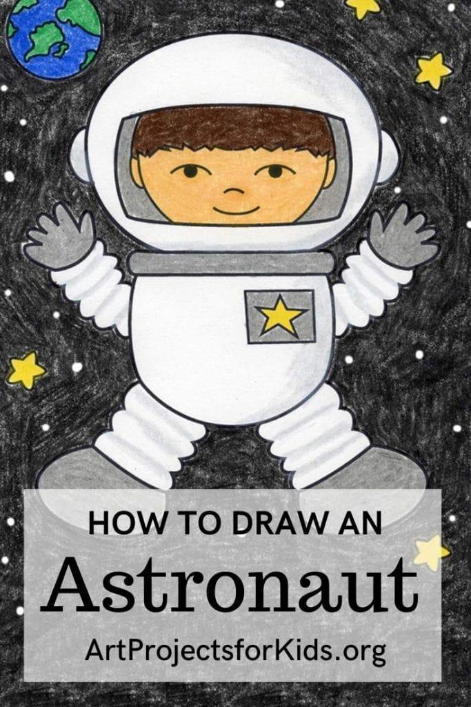 Astronaut for Pinterest – Activity Craft Holidays, Kids, Tips