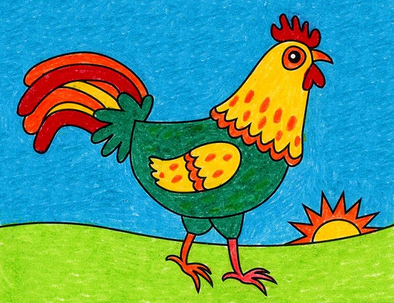 Draw a Chicken – Activity Craft Holidays, Kids, Tips