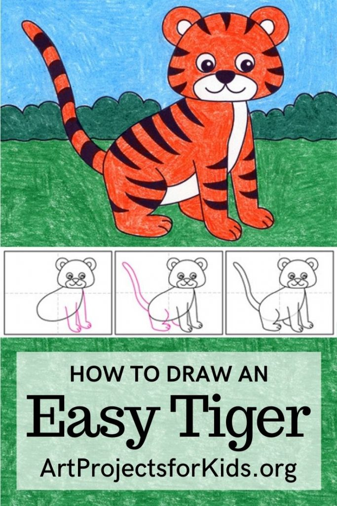 Easy Tiger for Pinterest – Activity Craft Holidays, Kids, Tips