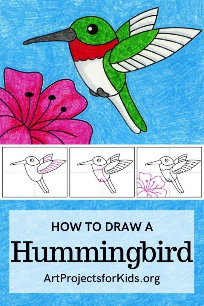 Hummingbird for Pinterest – Activity Craft Holidays, Kids, Tips