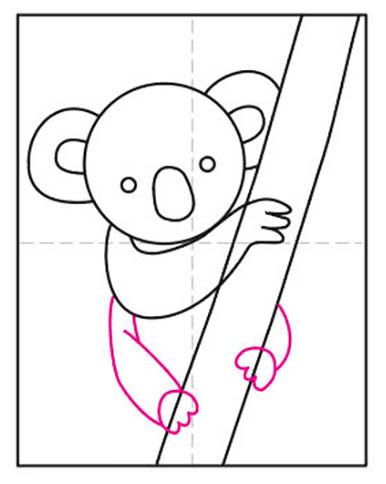 How to Draw an Easy Koala