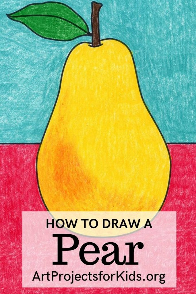 How to Draw a Pear
