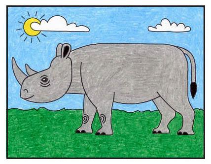How to Draw a Rhinoceros