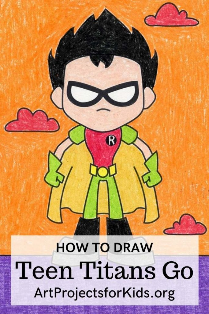 how to draw Teen Titans Go
