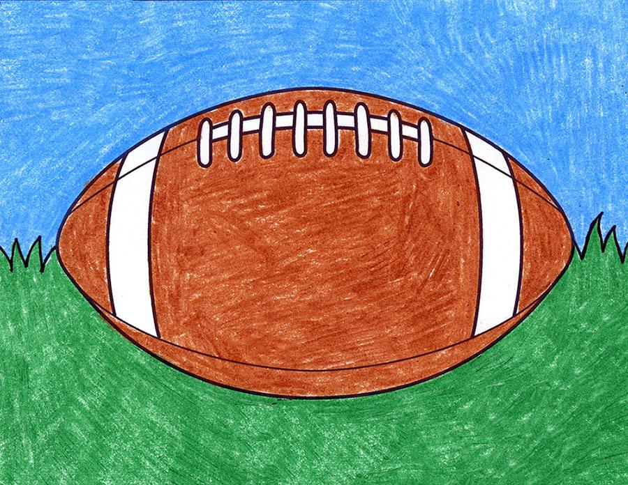 Draw a Football – Activity Craft Holidays, Kids, Tips