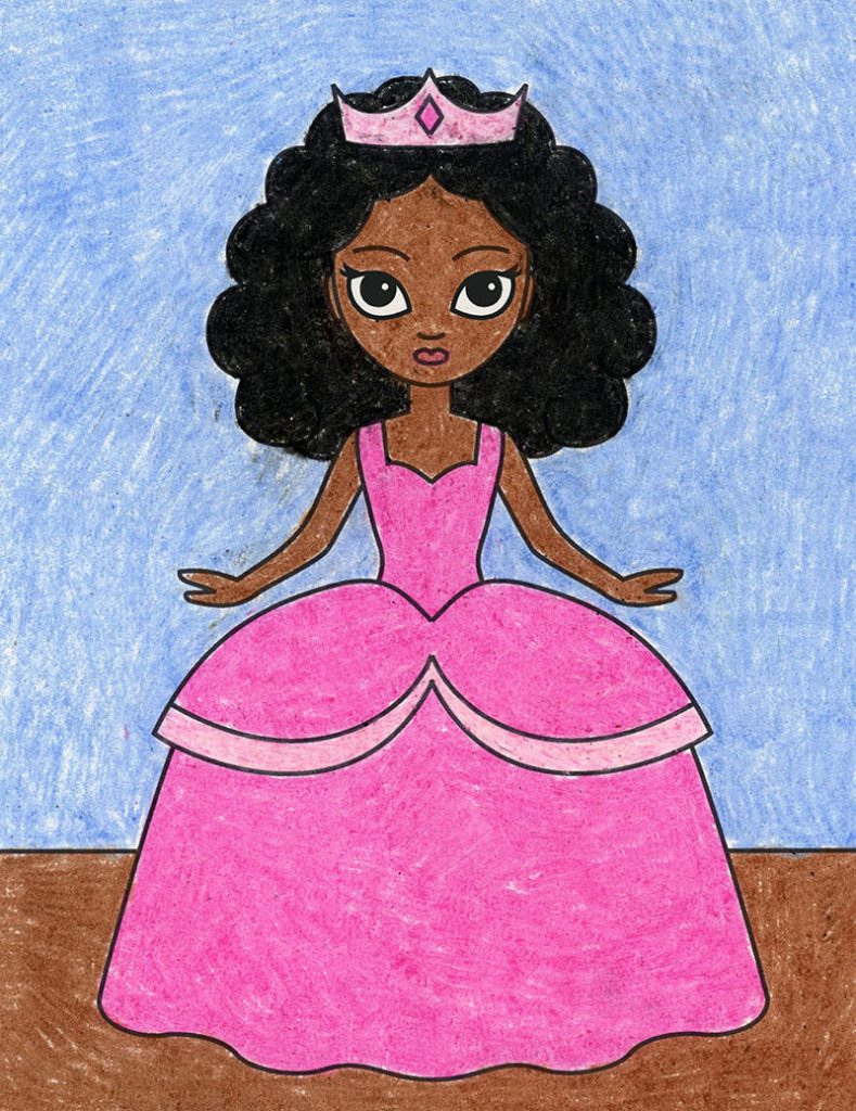 Draw a Princess – Activity Craft Holidays, Kids, Tips