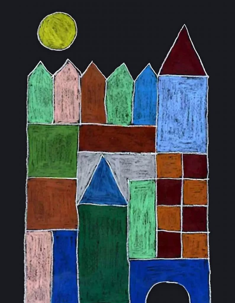 Paul Klee inspired childrens art project – Activity Craft Holidays, Kids, Tips