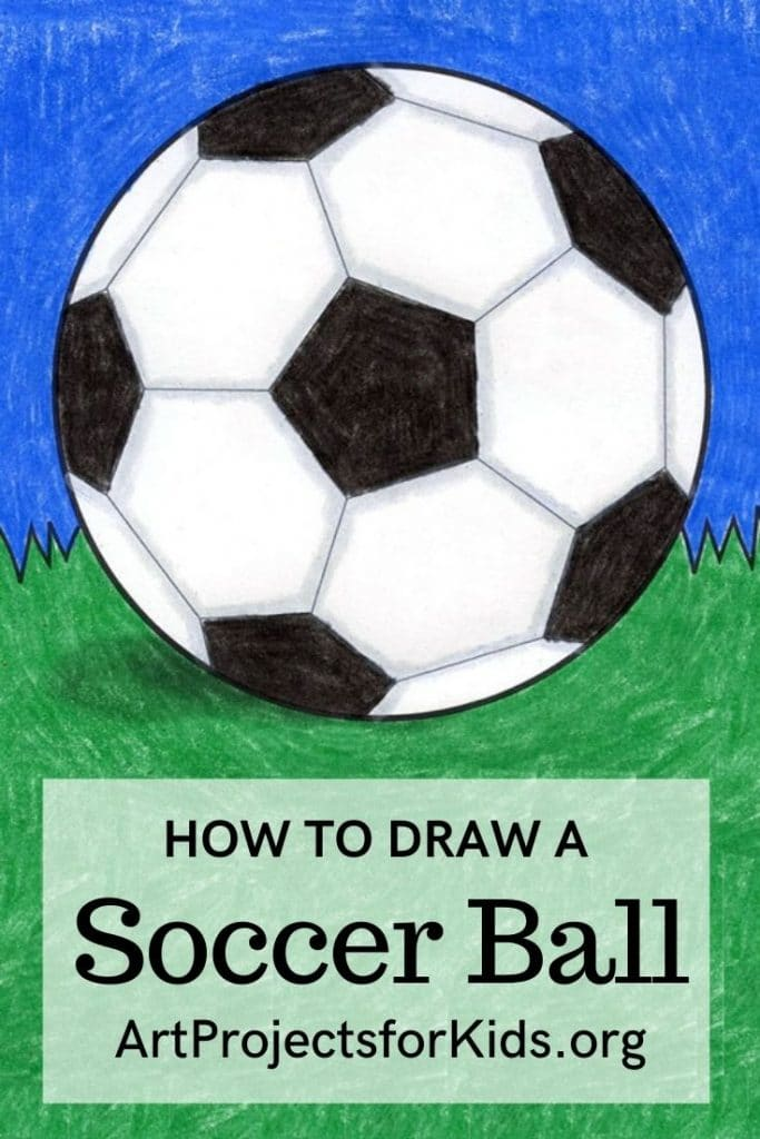 How to Draw a Soccer Ball