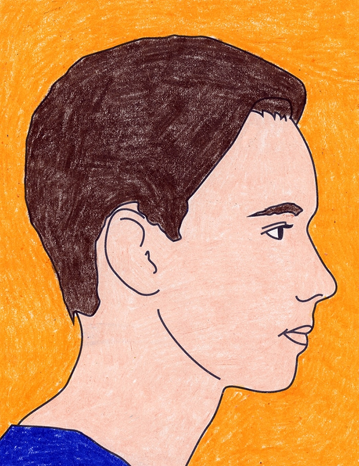 How to Draw a Side Profile