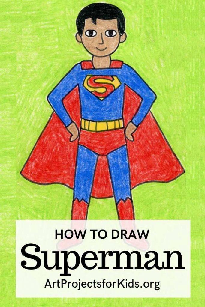 Superman for Pinterest – Activity Craft Holidays, Kids, Tips