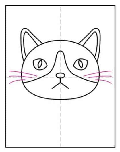 Cat Face 7 – Activity Craft Holidays, Kids, Tips