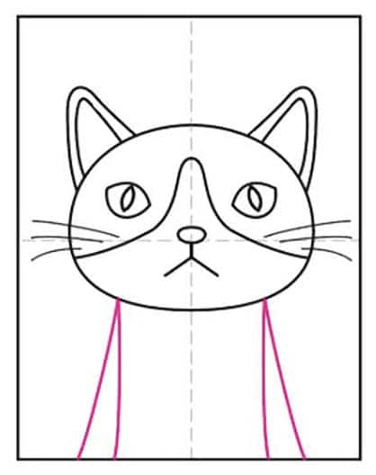 Cat Face 8 – Activity Craft Holidays, Kids, Tips