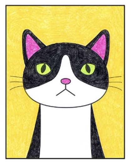 Cat Face 9 – Activity Craft Holidays, Kids, Tips