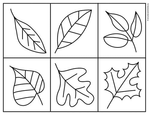 Pretty Fall Leaf Coloring Page. Stop by and download yours for free.