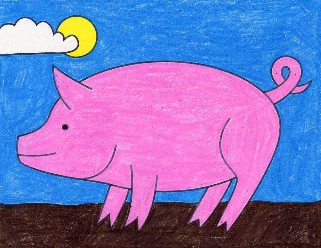 Pig Post – Activity Craft Holidays, Kids, Tips