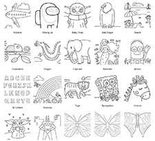 Coloring Page Gallery