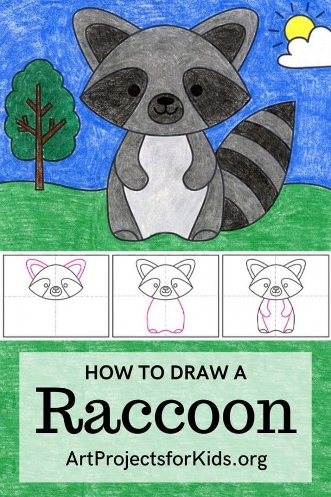 Raccoon for Pinterest – Activity Craft Holidays, Kids, Tips